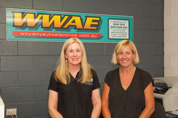 Support team for Woy Woy Auto Electrics