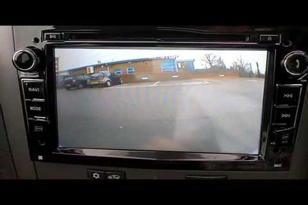 Reversing Camera and GPS