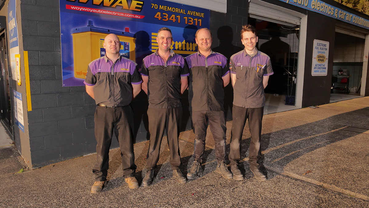 Woy Woy Auto Electrics Team